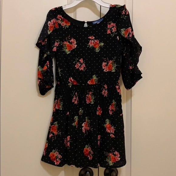 Truly Me Other - Girls Truly Me black floral dress